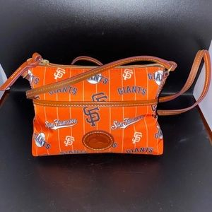 Dooney and Bourke crossbody and coin case set